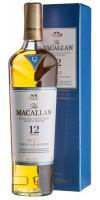 "Виски Macallan, ""Triple Cask Matured"" 12 Years Old, gift box, 0.7 л (Виски Макаллан, ""Трипл Каск Мэтьюэд"" 12-летний, в подарочной коробке, 700 мл)"