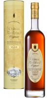 Коньяк Chateau de Montifaud VSOP, Fine Petite Champagne AOC, gift tube, 0.7 л (Коньяк Шато де Монтифо ВСОП, в подарочной тубе, 700 мл)