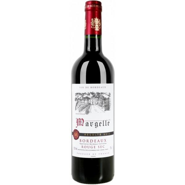 "Вино La Guyennoise, ""Margelle"" Bordeaux Rouge, 2017, 0.75 л (Вино ""Маржелле"" Бордо Красное сухое, 2017,750 мл)"